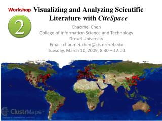 Visualizing and Analyzing Scientific Literature with  CiteSpace
