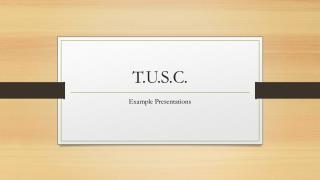 T.U.S.C.