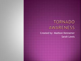 Tornado Awareness