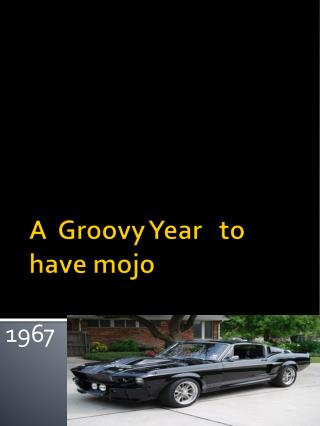 A  Groovy Year   to have  mojo