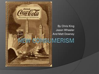 New Consumerism