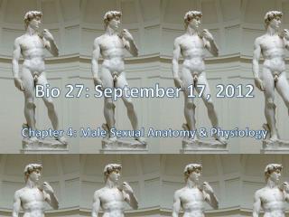 Bio 27: September 17, 2012