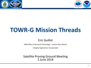 TOWR-G Mission Threads