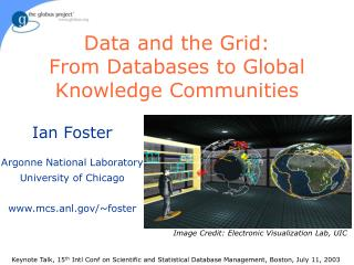 Data and the Grid: From Databases to Global Knowledge Communities
