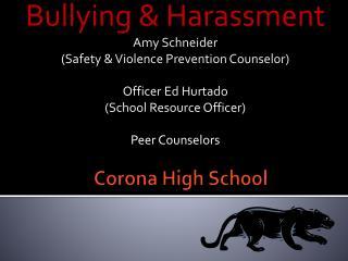 Corona High School