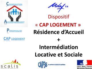 Résidence d'Accueil + Intermédiation Locative et Sociale