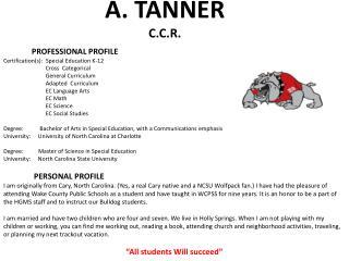 A. TANNER C.C.R.