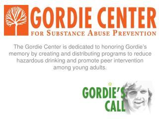 Gordie's  Story