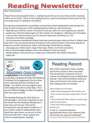 OLOG  READING CHALLENGE