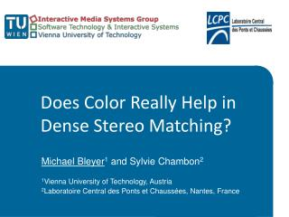 Does Color Really Help in Dense Stereo Matching?