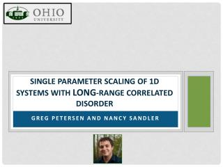 Single parameter scaling of 1d systems with  long -range correlated disorder