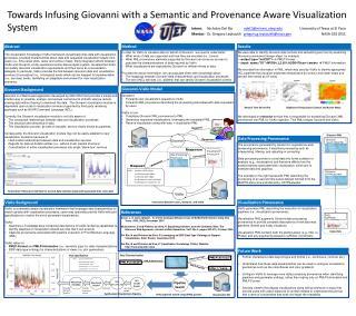 Giovanni: F orwards user visualization requests to VisKo