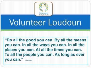 Volunteer Loudoun