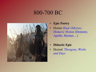 800-700 BC
