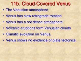 11b. Cloud-Covered Venus