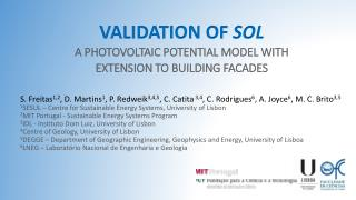 A PHOTOVOLTAIC POTENTIAL MODEL WITH EXTENSION TO BUILDING FACADES