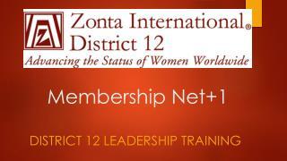 Membership Net+1