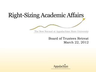 Right-Sizing Academic Affairs