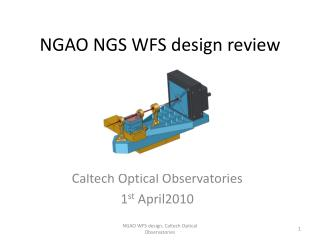 NGAO NGS WFS design review