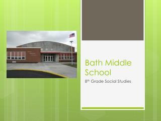 Bath Middle School