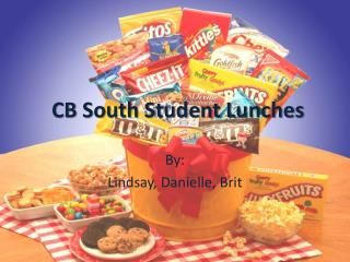 CB South Student Lunches