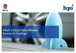 Adult Competition Review Research Findings