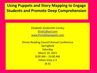 Using Puppets and Story Mapping to Engage Students and Promote Deep Comprehension