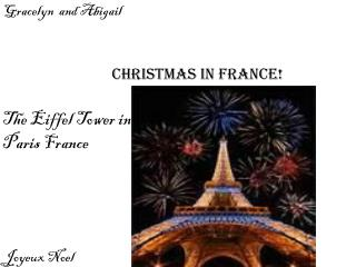Christmas in france!
