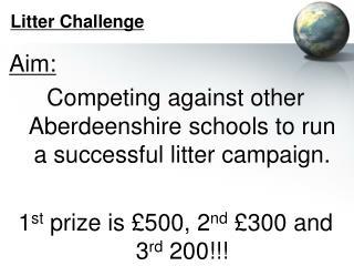 Litter Challenge