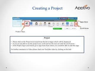 Apptivo Project App SS