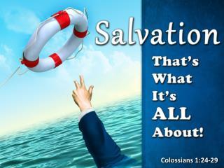 Colossians 1:24-29