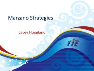 Marzano  Strategies