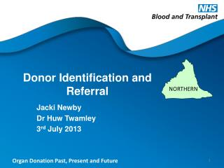Donor Identification and Referral