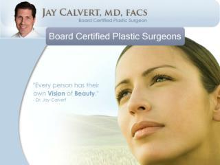 Plastic & Cosmetic Surgery Los Angeles - Dr Calvert