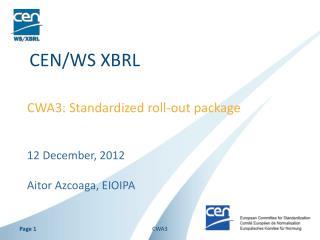 CEN/WS XBRL