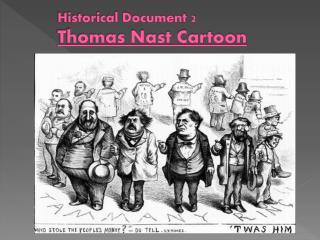 Historical Document 2 Thomas Nast Cartoon