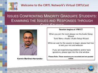 Welcome to the CIRTL Network's Virtual  CIRTLCast