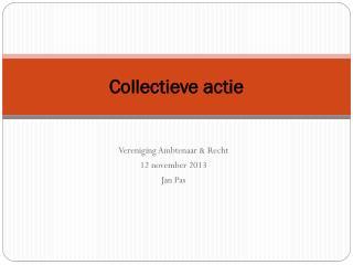 Collectieve actie
