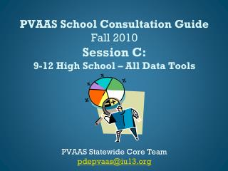 PVAAS School Consultation Guide Fall 2010 Session  C: 9-12 High School – All Data Tools
