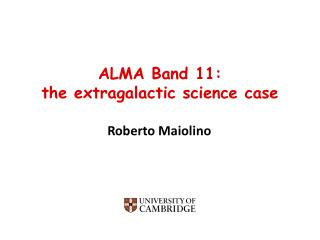 ALMA Band 11: t he extragalactic science case