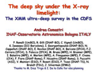 Deep and Hard X-ray surveys: why ? The XMM deep field in the CDFS