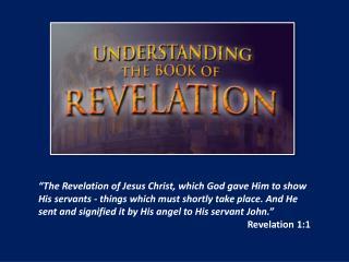 Keys to Understanding Revelation