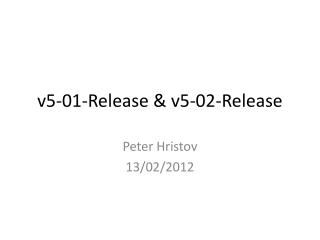 v5-01-Release & v5-02-Release
