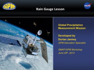 Rain Gauge  Lesson