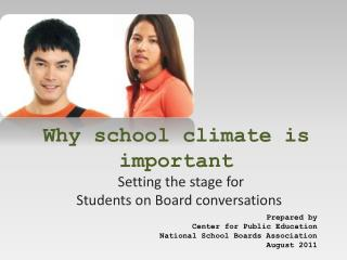 Why school climate is important