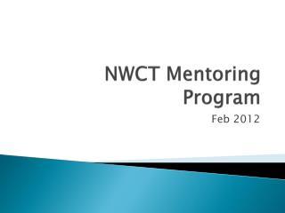 NWCT Mentoring Program