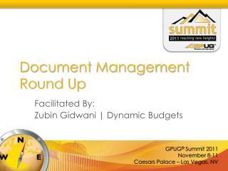 Document Management Round Up