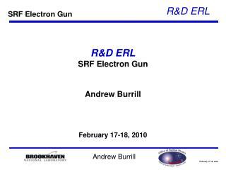 R&D ERL SRF Electron Gun