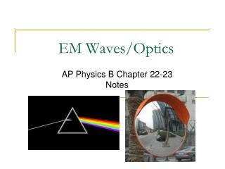 EM Waves/Optics