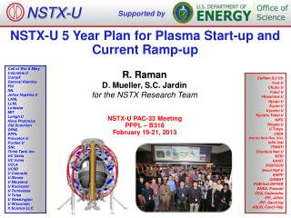 NSTX-U 5 Year Plan for Plasma Start-up and Current Ramp-up